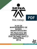 Plan de Mantenimiento de Banda Transportadora JHOANI