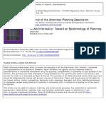 Roy -- Urban Informality Toward an Epistemology of Planning