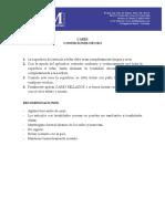 Instrucciones Carex