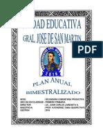 Plan Bimestralizado Prim 2018