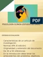 Psicología Clínica (Estudio de Caso)