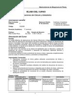 Sílabo -Aplicaciones de Cálculo y Estadistica(Planta.c-d) -