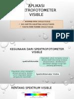 Aplikasi Spektrofotometer Visible 2