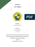 Cover Referat Akne Vulgaris