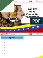 Las Tic en La Educacion Venezolana