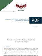 Manual de Instrumentos de Evaluacion IMU