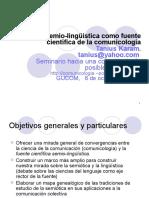 La Semio Lingüística