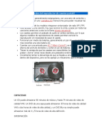 Características Generales Del Reproductor de Casetes Portátil
