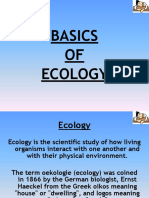 Lecture - 1 - Sleepy Classes - BASICS of Environment and Ecology