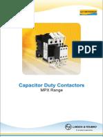 Capacitor Contractors MPX
