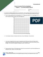 Geometry Test Items