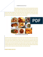 8 Resep Masakan Bali