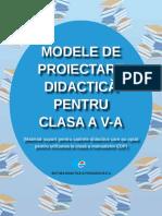 Extras From Modele de Proiectare Didactică Pentru Clasa a v-A