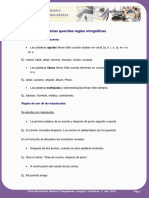 Algunas reglas ortográficas