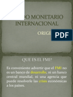 3-Clase No. 3 Fondo Monetario Internacional