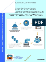 Step-By-Step Guide on Deploying Blockchain Voting Smart Contracts