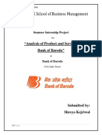 239682834-Analysis-of-Product-and-Services-of-Bank-of-Baroda.docx