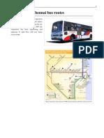 Chennai Bus Routes