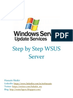 Step by Step WSUS Server for Anyone