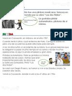 frida kahlo - lesson plan