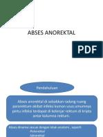 ABSES ANOREKTAL