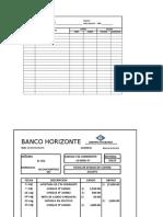 Formatos de Conciliacion Bancaria