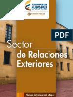 Estructura del Estado Colombiano - Sector de Relaciones Exteriores