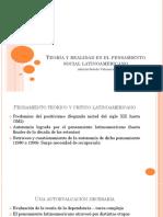 Teoría y realidad en el pensamiento social latinoamericano