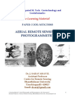 E-learning Material for Aerial Photography & Photogrammetry