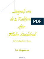 Biografier av de 4 Kaliferna