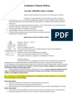 Revisão - 1avaliação - Ciência política