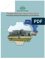 Punjab Industries Sector Plan 2018