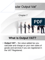 Regular Output Vat 1
