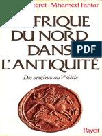 L'Afrique Du Nord Dans l'Antiquite