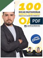 Ebook - 100 Dicas Matadoras Direito Tributário.pdf