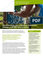 Handwashing & Sanitation Behaviour