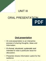 Oral Presentation1 1