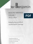 Walter Benjamin_ Selected Writings, Volume 1_ 1913-1926 (1996, Belknap Press)