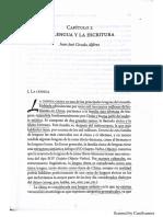 Alférez - La Lengua y La Escritura