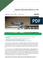 ATAQUE a SIRIA_ EEUU Utilizó El Ataque a Siria Para Estrenar Un Misil Invisible