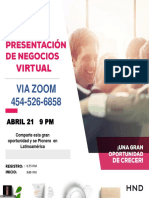 Presentacion Negocios Virtual Sabado