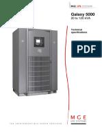 Galaxy 5000 - Documentation MGE