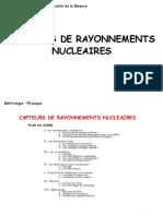 Capteurs nucléaires