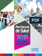 Plan Decenal Salud 2015-2025