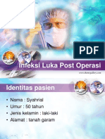 Infeksi Luka Syahrial