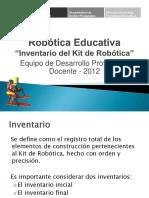 Inventario Kit de Robótica