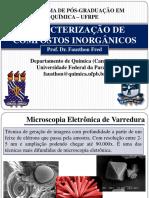 Caracterização de Compostos Microscopia