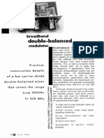 Doube Balanced Mod 03 March 1970