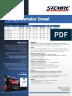 Lamina Comercial Diesel 50Hz Pt Scania
