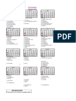 K.f.K Kalender 2018